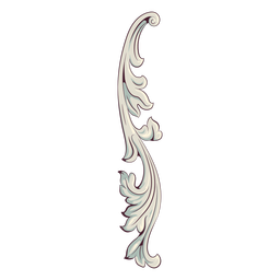 Swirly decoration illustration