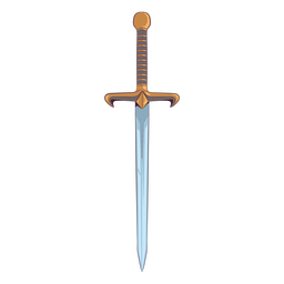 Sword gold illustration