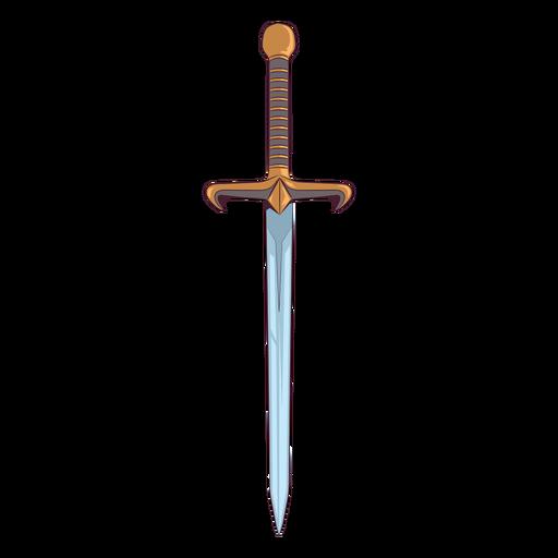 Ilustraci?n de espada de oro