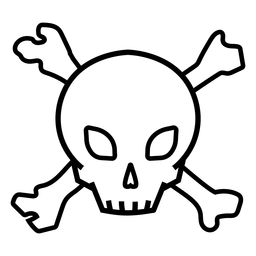 Skull bones symbol