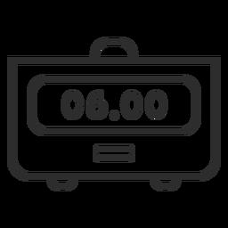 Alarm clock digital