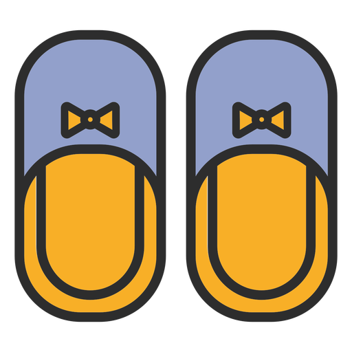 Slippers clothes color stroke