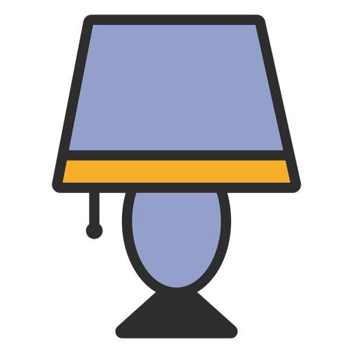Traço colorido claro da mesa