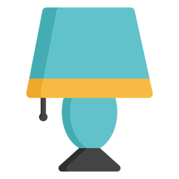 Lamp light flat