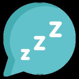 Balão sonolento plano