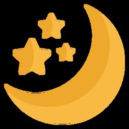 Estrellas y espacio lunar