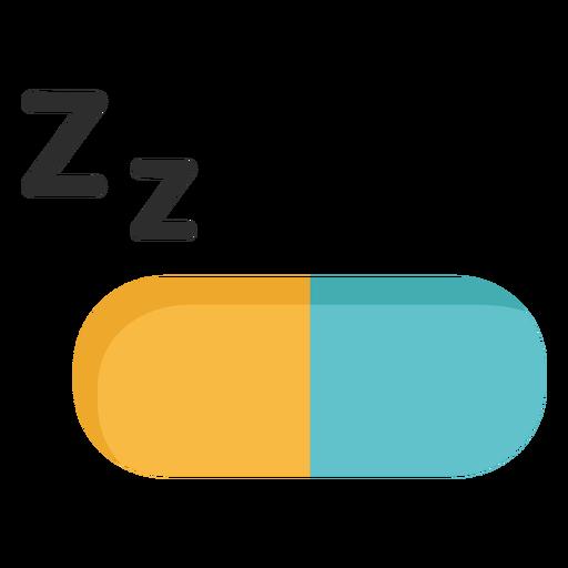 Sleeping pill capsule