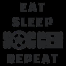 Letras de rotina de futebol
