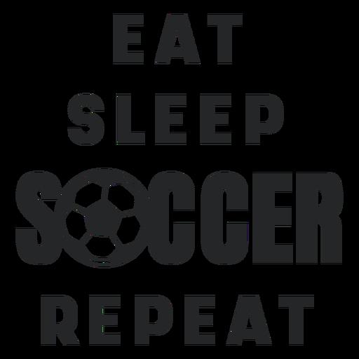 Soccer routine lettering Transparent PNG