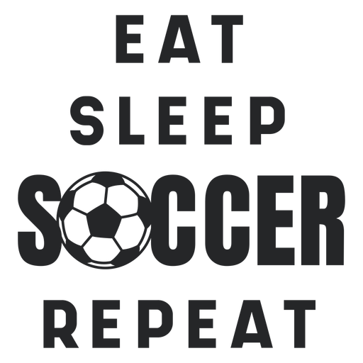 Soccer routine lettering