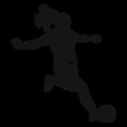 Recorte de jugador de fútbol chica
