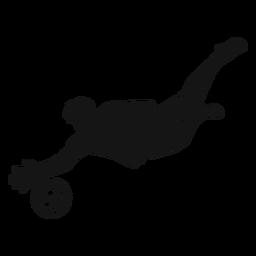 Recorte de jugador de deporte de fútbol