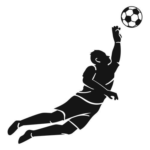 Player soccer sport cut-out