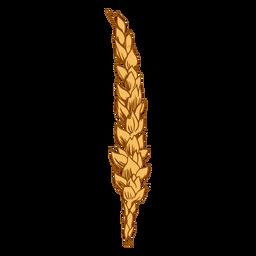 Ilustración de cereal de trigo