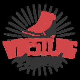 Wrestling legend quote badge