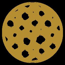 Cheetah print badge