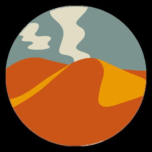 Paisaje de las montañas del desierto
