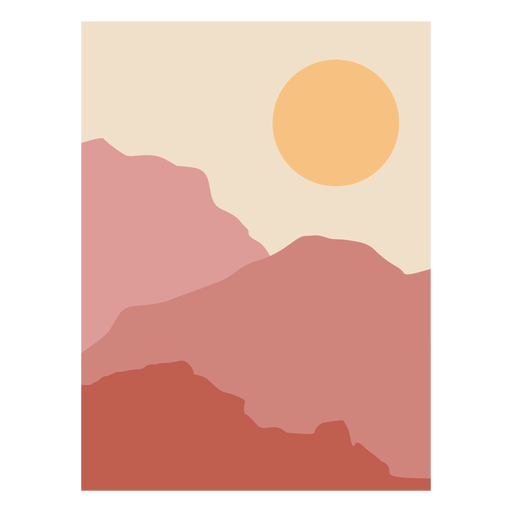 Sonnenaufgang Berglandschaft