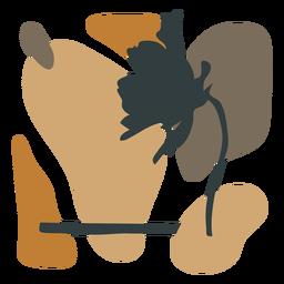 Composição abstrata da folha