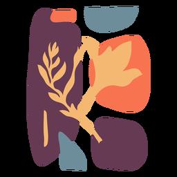 Resumen hojas coloridas