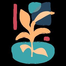Resumen de la planta de la naturaleza