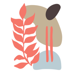 La naturaleza deja abstracto