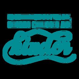 German children joke lettering