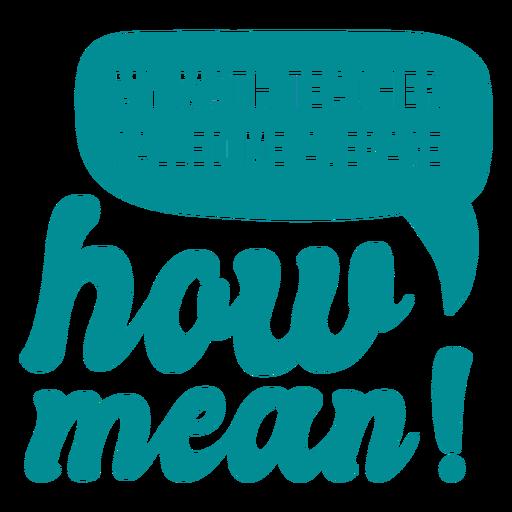 Math teacher joke lettering