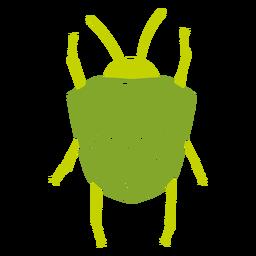 Insignia divertida del juego de palabras de insectos