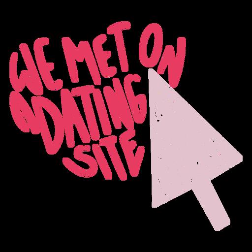 Online dating joke funny badge