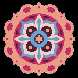 Mandala star flat