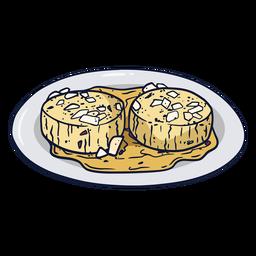 German cheese illustration