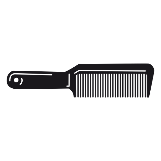 Hair comb cut-out