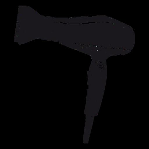 Hair dryer cut-out