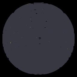 Insignia de peinado de ondas