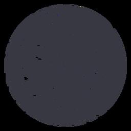 Crachá de mulher de cabelo de perfil
