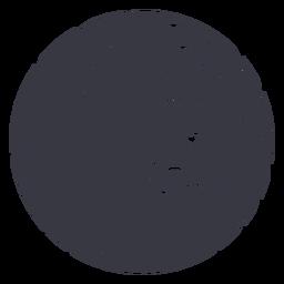 Beach waves hair badge