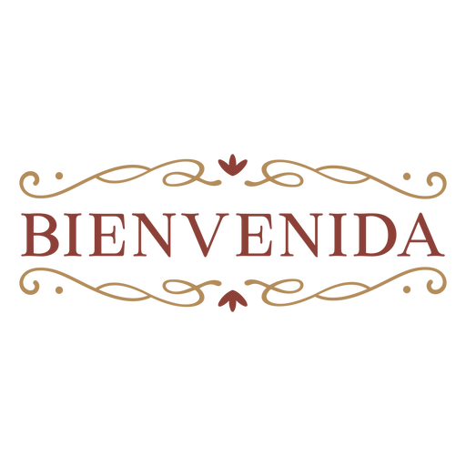 Bienvenida badge banner