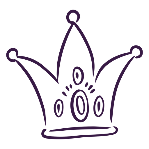 Hand drawn jester hat  Transparent PNG