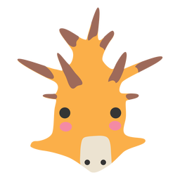 Giraffe head cute