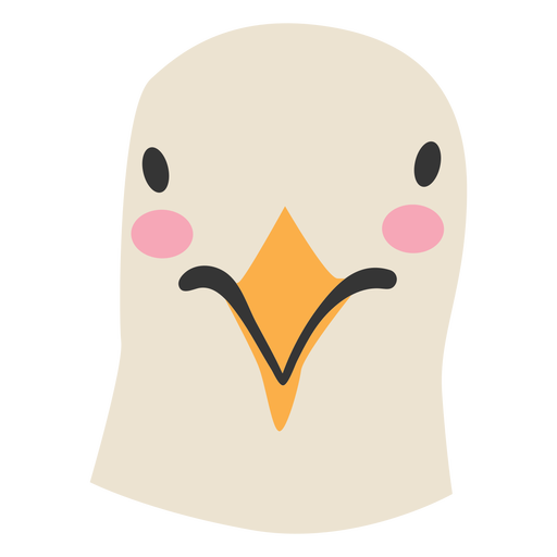 Bird head cute