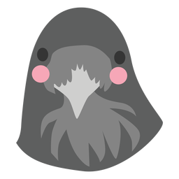 Dove bird head cute