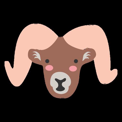 Goat head cute