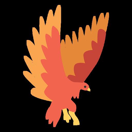 Animal de ave fénix salvaje