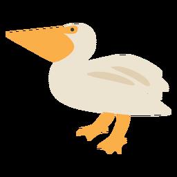Bird seagull flat