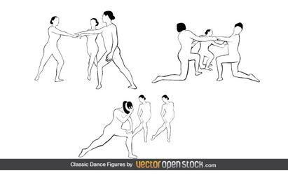 Las figuras clásicas de la danza