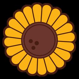 Sonnenblumen-Karikaturblume