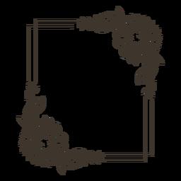 Retrato de la naturaleza del marco de la flor