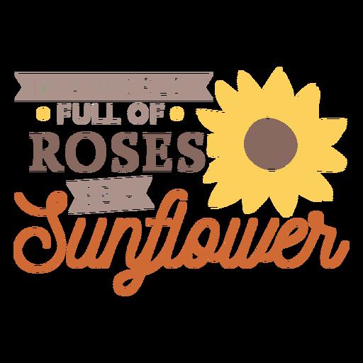 Sonnenblume sein anderes Abzeichen