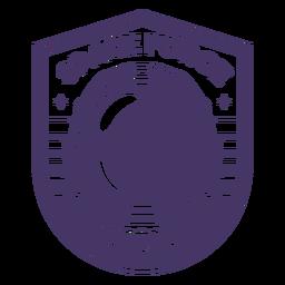Distintivo de astronauta da força espacial